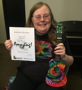 student achievment rewards for ukulele lessons in moscow, id
