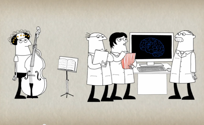 Ever wonder hat happens inside musicians' brains when they play?