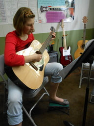 Electric guitar lessons in Moscow, Idaho